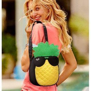Victorias Secret PINK Pineapple Mini Bag Tote